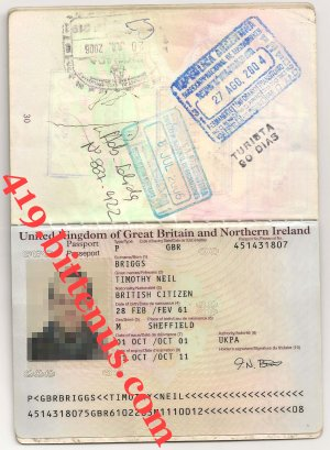 timothy neil passport
