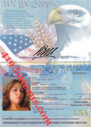 Passports Usa
