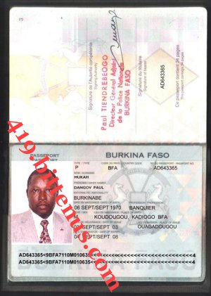 My International passport 3