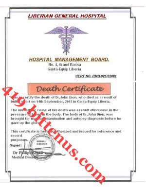 DEATH_CERTIFICATE OF MY FATHER