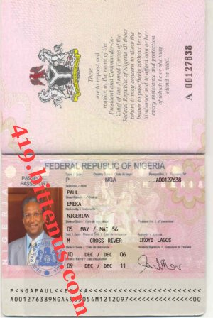 Identification Document