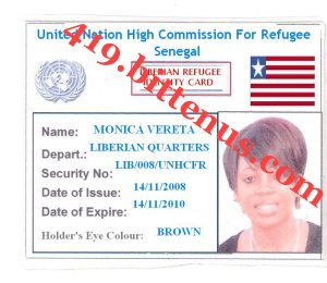 My Refugee ID 1