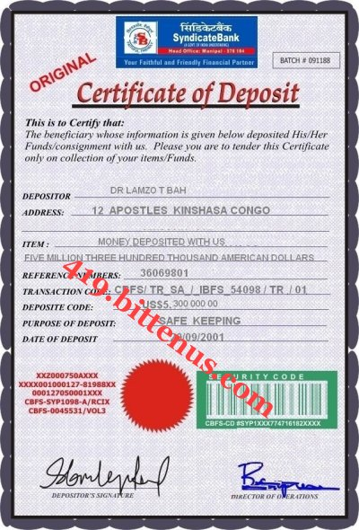 Certificates of deposit uk deposit yelopaper Choice Image