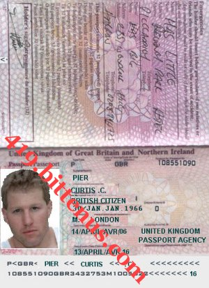 New passport