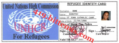 My refugee identity