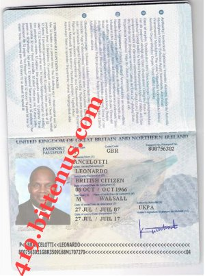 B british passport