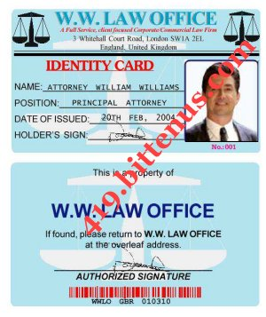 ID CARD Lawyer