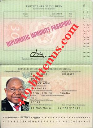 how to get a diplomatic passport us