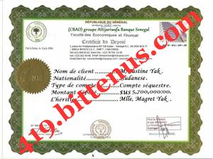 419The Deposit certificate htr
