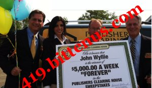 Publishers Clearing House - Mr  Todd Sloane