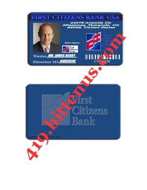 First Citizens Bank Card