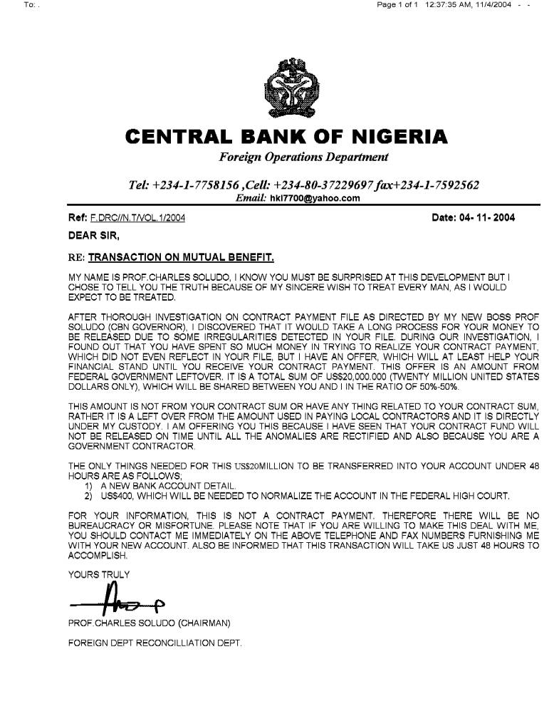 Charles Soludo, Executive Governor, Central Bank of Nigeria (page 2)