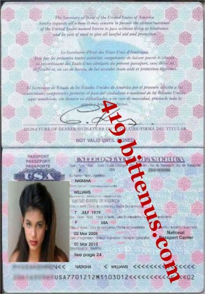 Natashas Passport