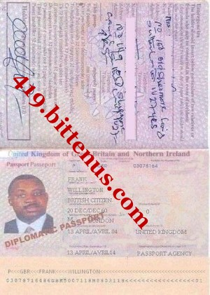 frank--willington--diplomatic--passport