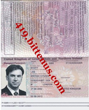 Scott passport