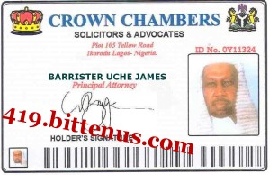 BARRISTER UCHE JAMES