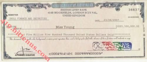 419ttenus checks british linen bank us5500000 23042007 altavistaventures Image collections