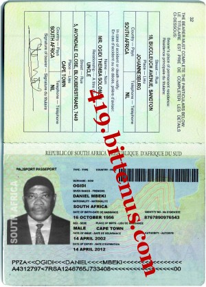 MY INTERNATIONAL PASSPORT