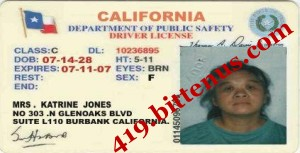 My Drivers  License