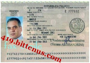 Zito Passport