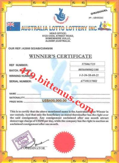 lotto zertifikat