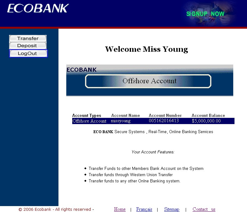 How to transfer money via net banking