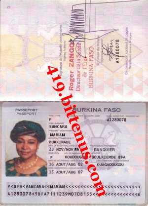 Mariam passport