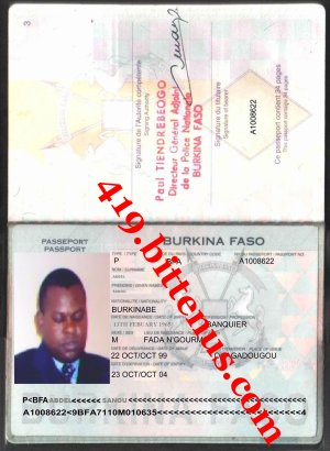 My internationa passport