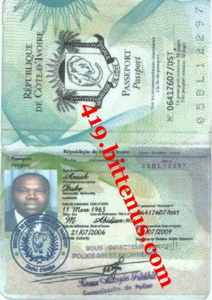 Passport ansah