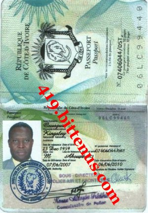 Passport osuagwu