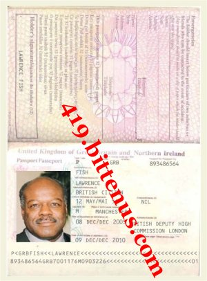 Fish passport