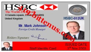 HSBC MARK JOHNSON