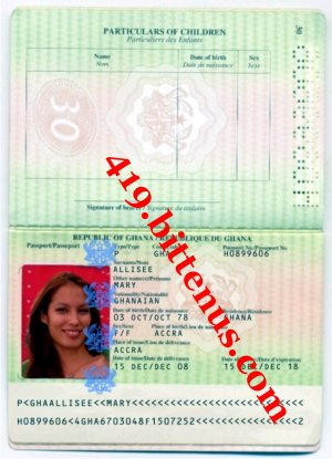 Mary passport