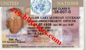 UNITED NATIONS I.D