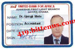 DrMete Bank ID