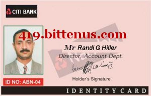 ID OF TRANSFER OFFICER MR RANDI G HILLER