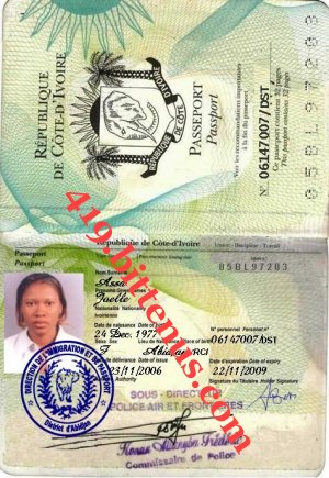 My secretary passport