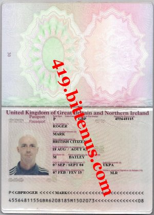 mark roger passport