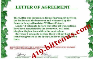 agreement document · bittenus.