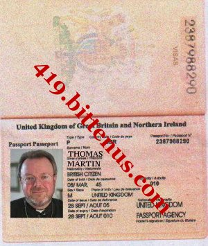 ITERNATIONAL PASSPORT
