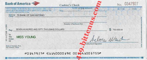 order check registers bank of america