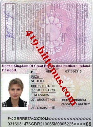 MRS REZA PASSPORT