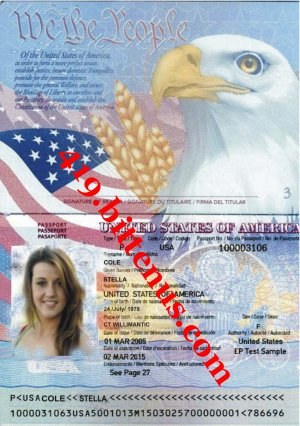 Mis Stella Cole passport