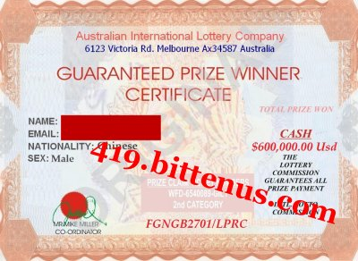 Liming_Certificate of Win
