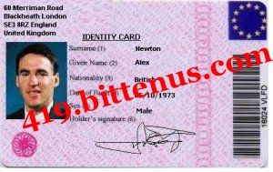 Identity Card _Newton Alex