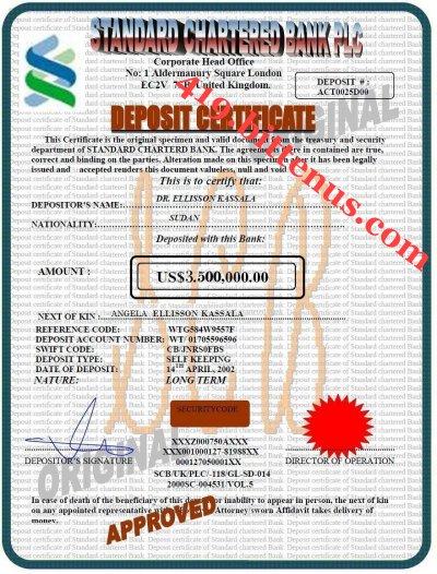 Certificates of deposit uk deposit certificate angela yadclub Gallery