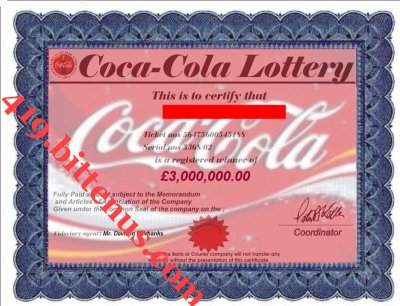 COCA-COLA_LOTTERY_CERTIFICATE_FOR