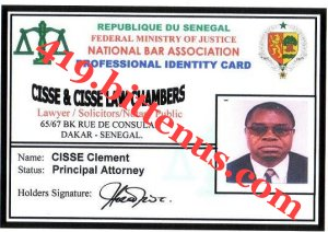 Cisse -AND- Cisse law