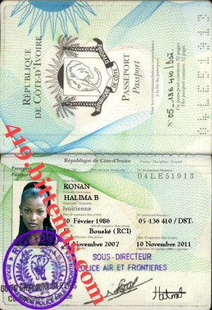 Halima passport file