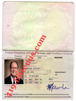 My British Passport